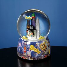 Storrings NYC Times Square Rotating Water Globe