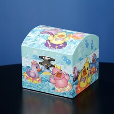 Rubber Ducky Musical Treasure Box