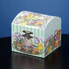 Teddy Bear Toys Musical Treasure Box