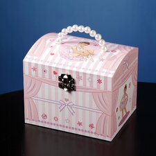 Star Ballerina Musical Jewelry Box