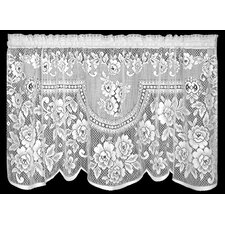 Victorian Rose Tier Curtain