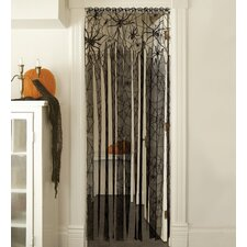 Creepy Crawly Streamer Polyester Curtain Single Panel