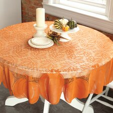 Pumpkin Round Table Topper