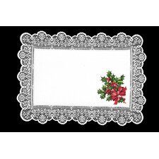 Boughs of Holly Placemat (Set of 4)