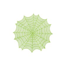 Spider Web Round Table Topper