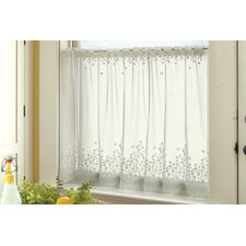 Blossom Rod Pocket Scalloped Tier Curtain