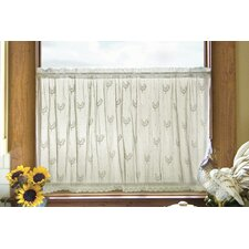 Country Rooster Tier Curtain