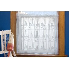 Harbor Lights Tier curtain
