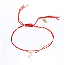 Heat Embroidery Floss Charm Bracelet