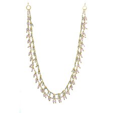 14k Gold 2 Layer Chain Necklace