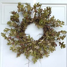 Glitter Oak and Acorn Wreath