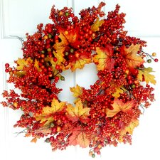 <strong>Mills Floral</strong> Autumn Berry Wreath
