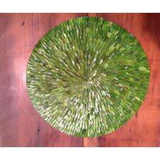"Boxwood 16"" Round Placemat"