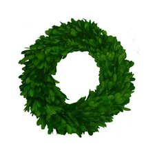"Boxwood 10"" Single Side Wreath"