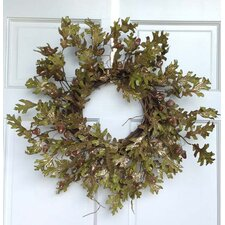Glitter Oak and Acorn Wreath