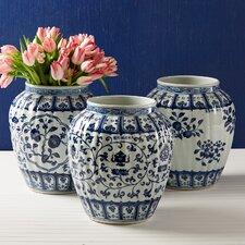 Fluted Vases (Set of 3)