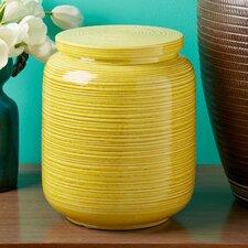 Linea Medium Decorative Covered Jar