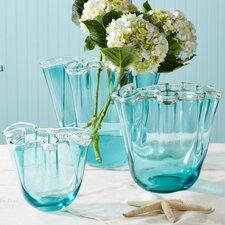 3 Piece Waves Vase Set