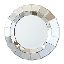 Ainsworth Round Beveled Wall Mirror