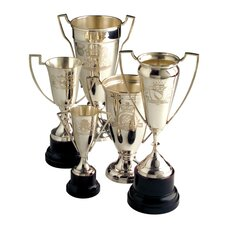 Victoria Engraved Vintage Trophy (Set of 5)