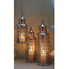 Light House™ 3 Piece Iron Lantern Set