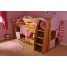 Rondo Mid Sleeper with 4 Drawer Chest and Cube Units