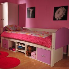 Solo Single Bed Frame with Underbed Storage