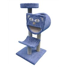"<strong>Molly and Friends</strong> 54"" Bed, Cave and Cradle Cat Tree"