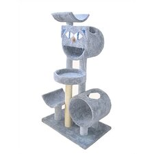 "<strong>Molly and Friends</strong> 66"" Condo, Bed and Cradle Cat Tree"