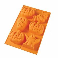 <strong>Lekue</strong> 6 Cavity Halloween Mold