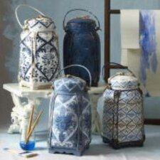 4 Piece Decorative Rice Jar Set
