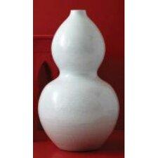 Au Courant Blanc De Chine Embossed Gourd Vase