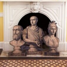 3 Piece Dransfield and Ross Roman Bust