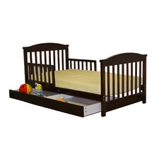 <strong>Dream On Me</strong> Mission Toddler Bed with Storage Drawer