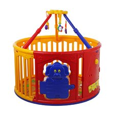 Deluxe Circular Playard with Jungle Gym