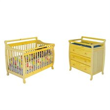 Liberty Liberty 4-in-1 Convertible Crib Set
