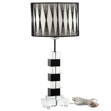 "Percussion 19"" H Table Lamp with Drum Shade"