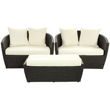 Kindred 3 Piece Deep Seating Group with Cushions