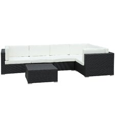 Merge 6 Piece Deep Seating Group with Cushions