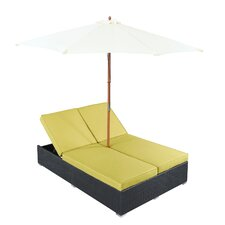 Arrival Chaise Lounge with Cushion