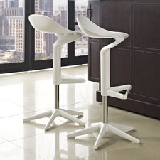 "Flare 22"" Adjustable Swivel Bar Stool"