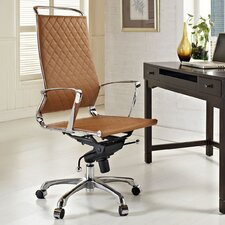Vibe High-Back Leather Executive Office Chair