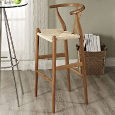 "Hourglass 28.5"" Bar Stool"