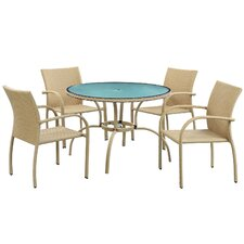 Circulo 5 Piece Dining Set