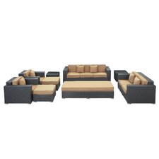 Eclipse 9 Piece Seating Group with Cushions