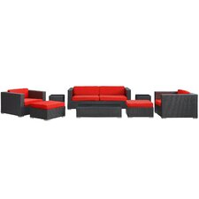 Venice 8 Piece Deep Seating Group with Cushions