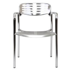 Ohio Stacking Dining Arm Chair