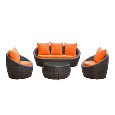 Triumph 4 Piece Seating Group with Cushions