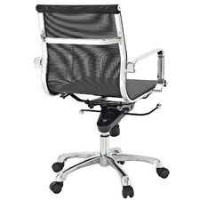 Slider Mid-Back Mesh Executive Office Chair