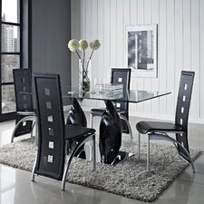<strong>Modway</strong> Quarry 5 Piece Dining Set